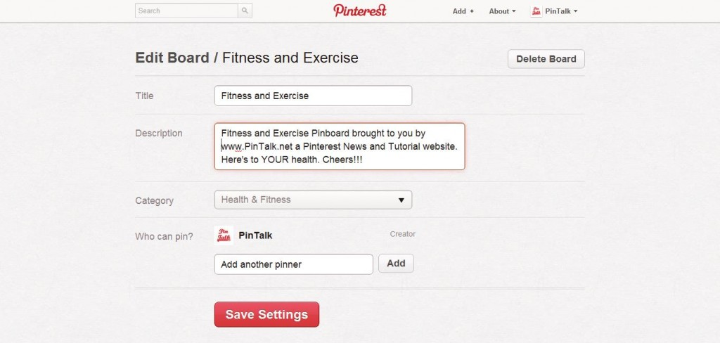 Pinterest How To Make A Pinboard Step 11