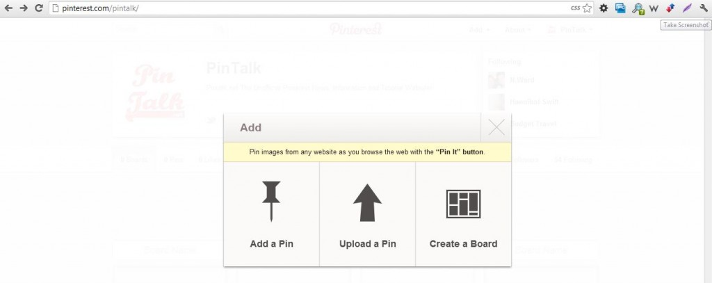 Pinterest How To Make A Pinboard Step 7