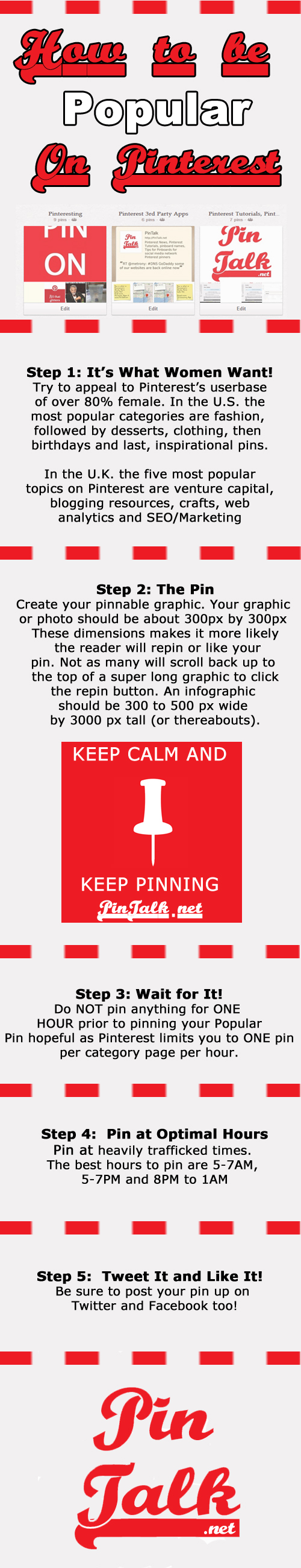 Pinterest Popular Pin Infographic