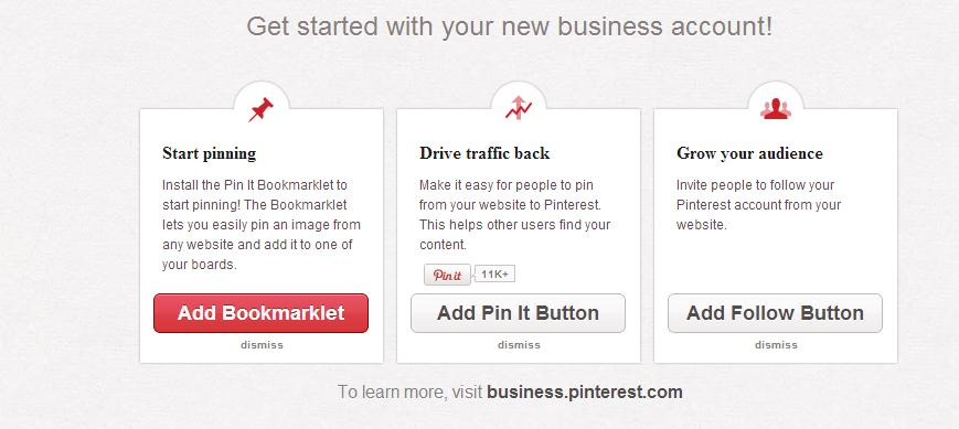 Pinterest Tutorial Pinterest for Business 2