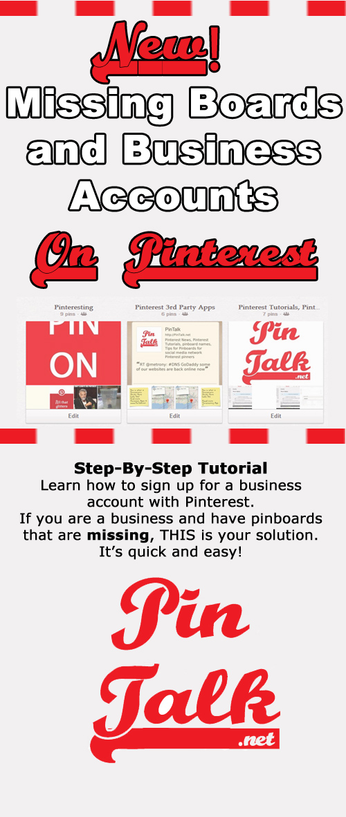 Pinterest for Business Accounts