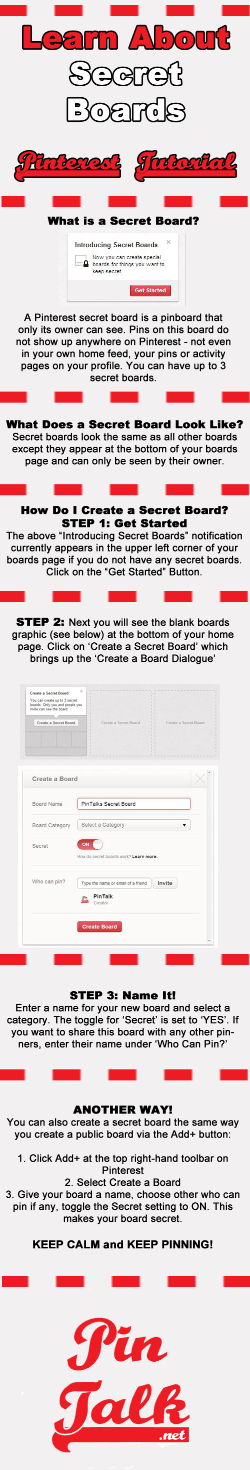 Pinterest Secret Boards Tutorial