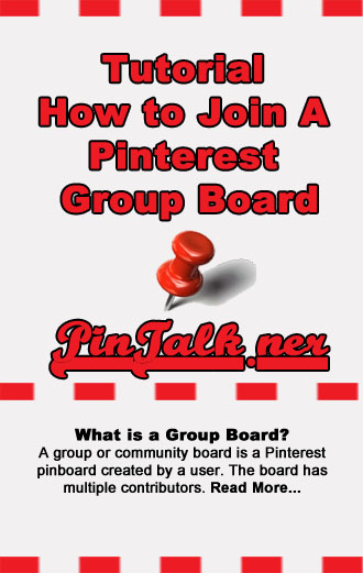 Pinterest Tutorial Join A Pinterest Group Board