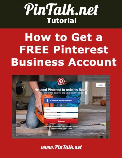 How to get a FREE Pinterest Business Account