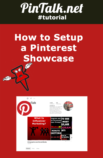 How to Setup Pinterest Showcase