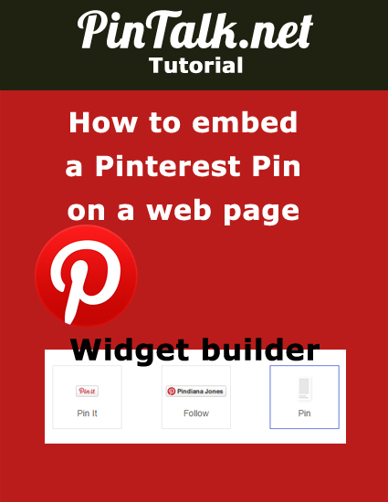 How-to-embed-Pinterest-pin-on-web page