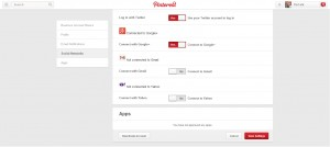 Pinterest-Apps-Settings
