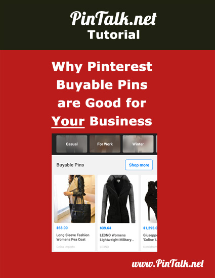 Why Pinterest Buyable Pins Good for Your Business