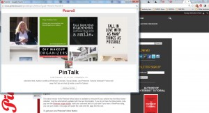 Pinterest Follow Pop Up