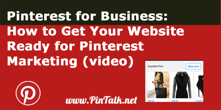 Pinterest for Business Get Website Ready Pinterest Marketing -440