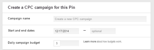 Promoted Pins Pinterest Ads Setup CPC