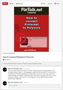 Title Pinterest pin-pintalk