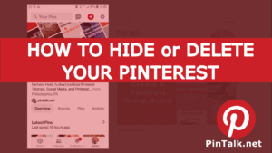 How to Delete Your Pinterest