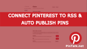 Pinterest Connect RSS Feed