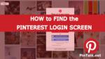 Pinterest Login Sign In