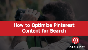 Pinterest Optimize Search