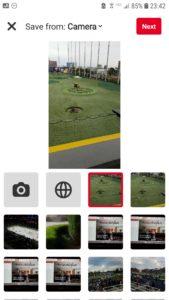 Pinterest Video Pin Upload Mobile Pinterest app